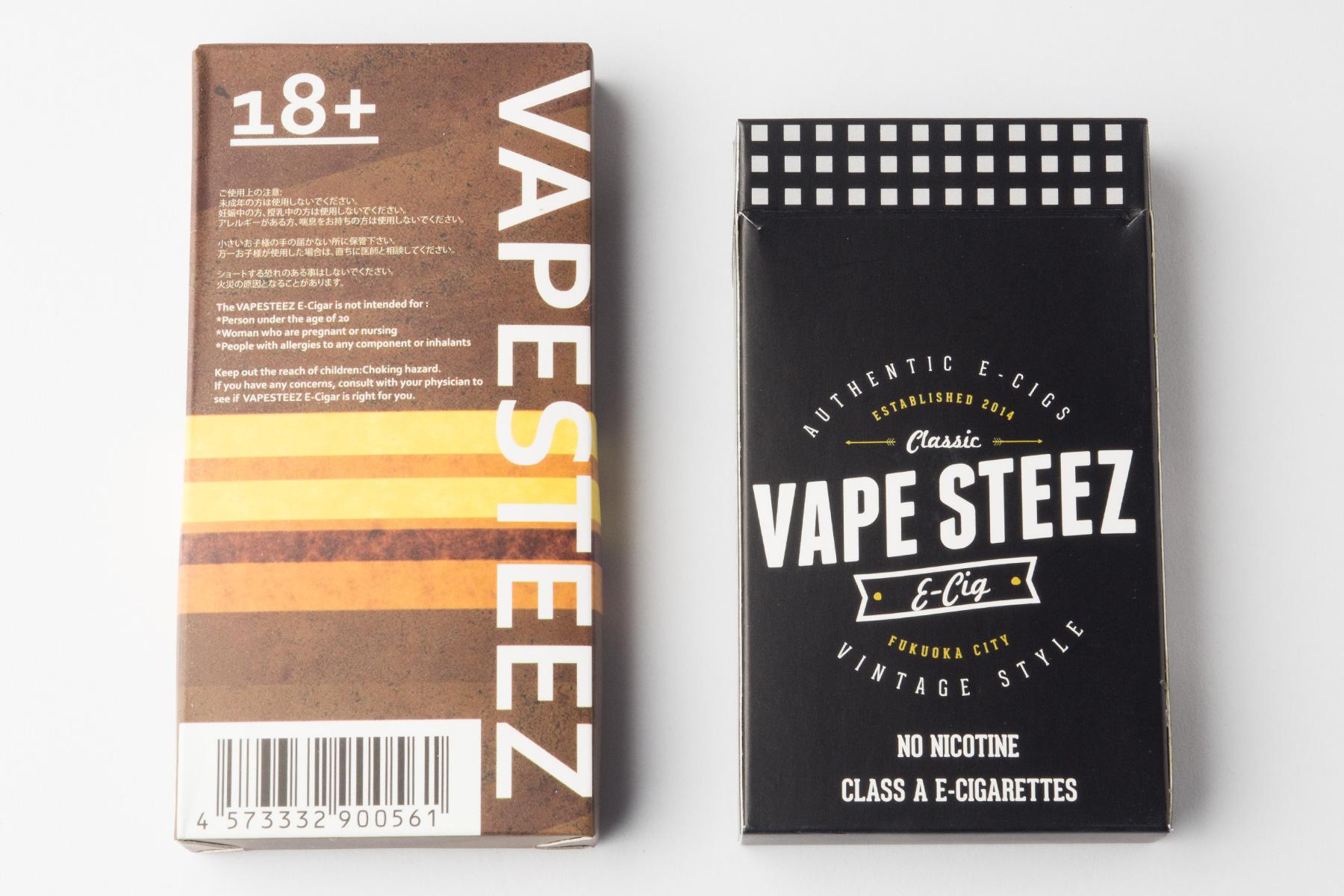 【使い捨て 電子タバコ】VAPE STEEZ オリジナル レビュー!! iQOS(アイコス)、Ploomtech(プルームテック)ユーザーにも!