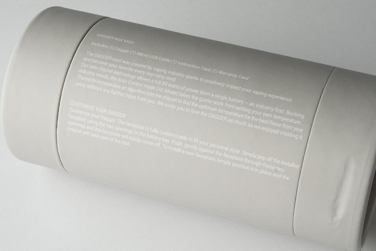 【テクニカルMOD】Dagger 80W Box Mod「ダガー」 (VO Tech)レビュー