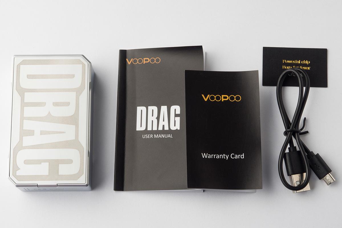 【テクニカルMOD】DRAG 157W TC Box MOD 「ドラッグ」(VOOPOO) レビュー