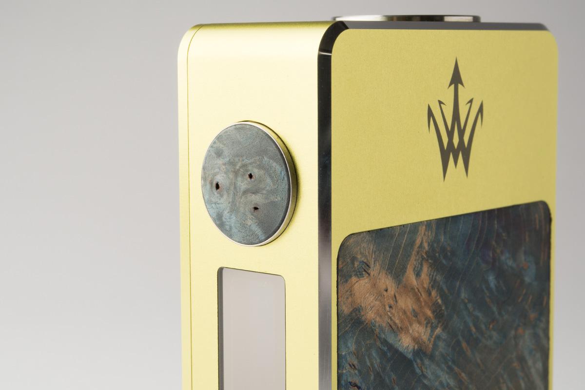 【テクニカルMOD】X200 Stabilized Wood「エックス200 スタビライズドウッド」 (Woody Vapes/ウッディーベイパーズ)レビュー