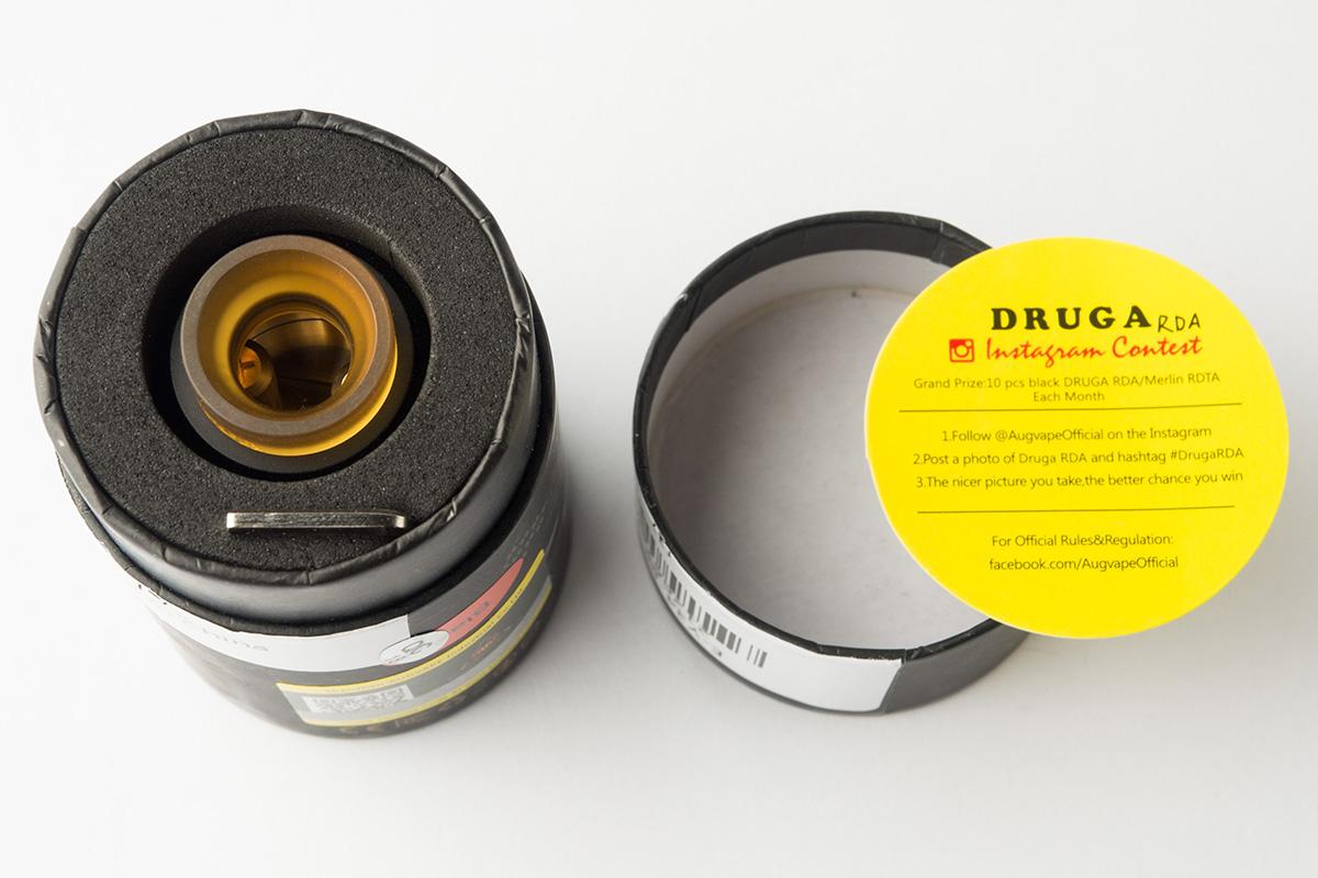 【アトマイザー】DRUGA RDA「ドルーガ」 (Augvape/オーグベイプ) レビュー