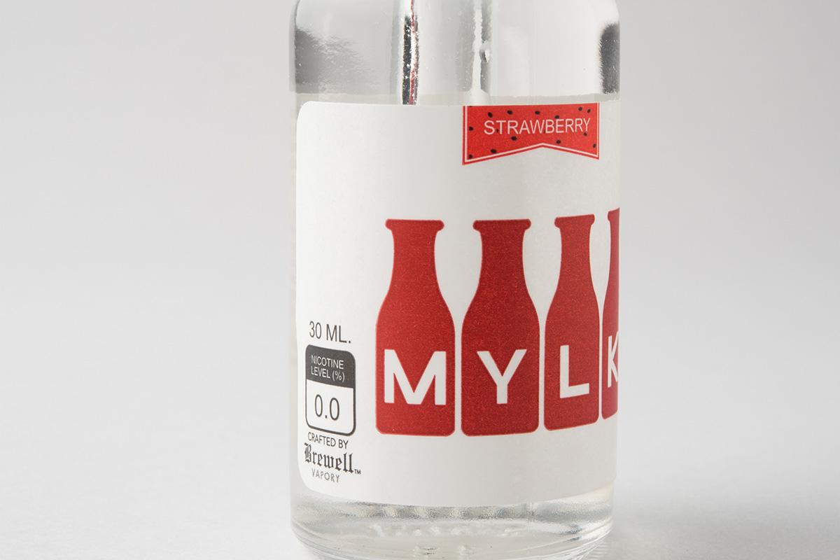 【リキッド】Strawberry Mylk「ストロベリー ミルク」 (Brewell Vapory/ブルーウェル ベーポリー) レビュー