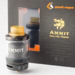 【アトマイザー】Ammit Dual Coil RTA「アメミット デュアルコイル」 (geek vape/ギークベイプ) レビュー