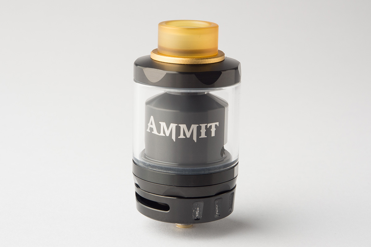 【アトマイザー】Ammit Dual Coil RTA「アミット デュアルコイル」 (Geekvape/ギークベイプ) レビュー