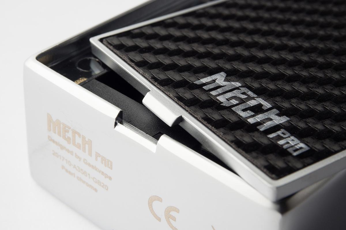 【メカニカルスターターキット】Mech Pro Mod kit With Medusa RDTA 「メックプロモッド ウィズ メデューサRDTA」(Geekvape /ギークベイプ) レビュー