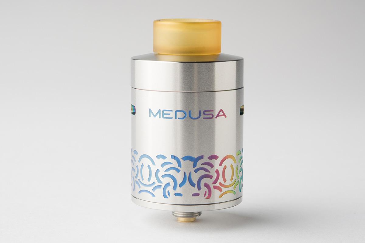 【アトマイザー】Medusa Reborn RDTA「メデューサ リボーン」 (GeekVape/ギークベイプ) レビュー