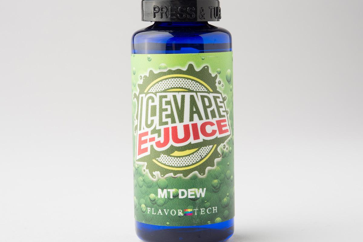 【リキッド】MT DEW「エムティー デュー」 (ICE VAPE E-JUICE/アイスベイプ) レビュー