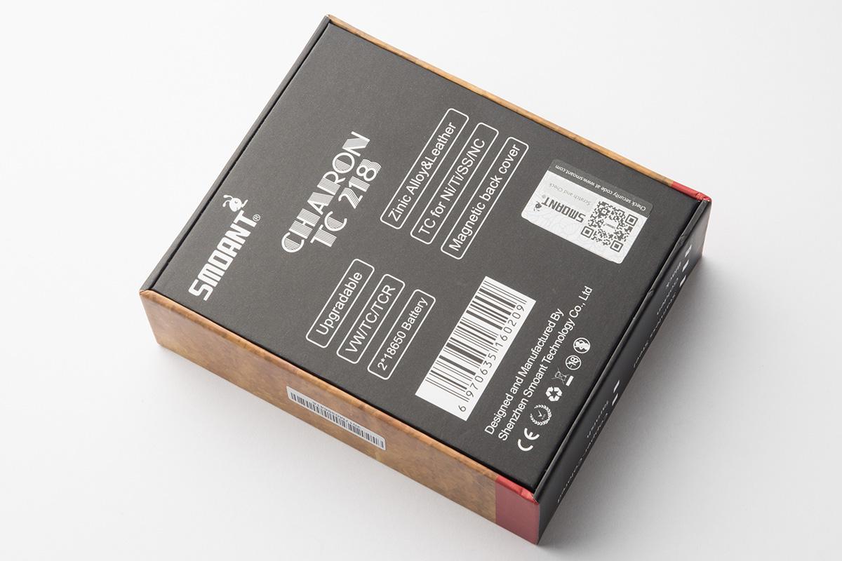 【スターターキット】Charon 218W Box Mod 「カロン」(Smoant/スモアント) レビュー