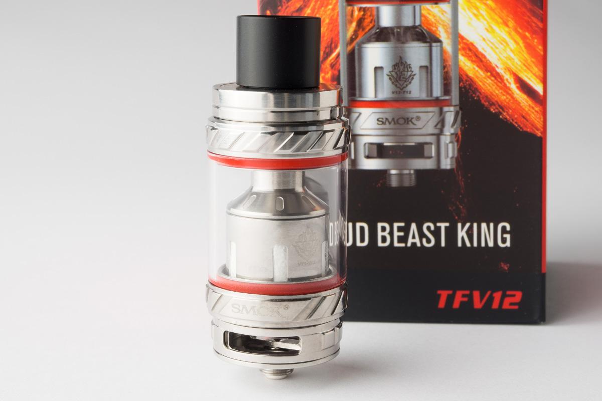 【アトマイザー】TFV12 Cloud Beast King (Smok/スモック) レビュー