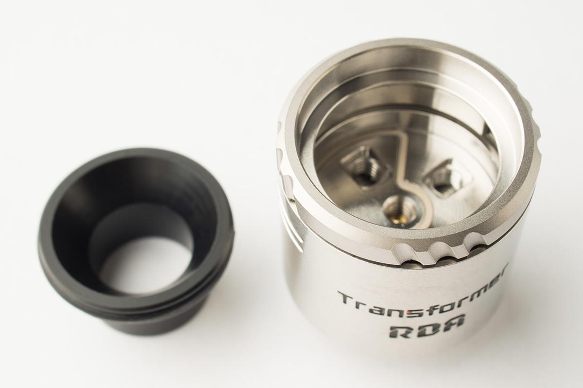 【アトマイザー】Transformer RDA「トランスフォーマー」 (VAPORESSO/ベイパレッソ) レビュー