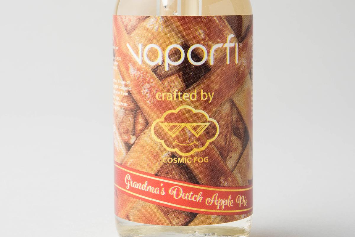 【リキッド】Grandma's Dutch Apple Pie「グランマズ ダッチ アップルパイ」 (VaporFi by Cosmic Fog/ベーパーファイ バイ コスミック フォグ) レビュー