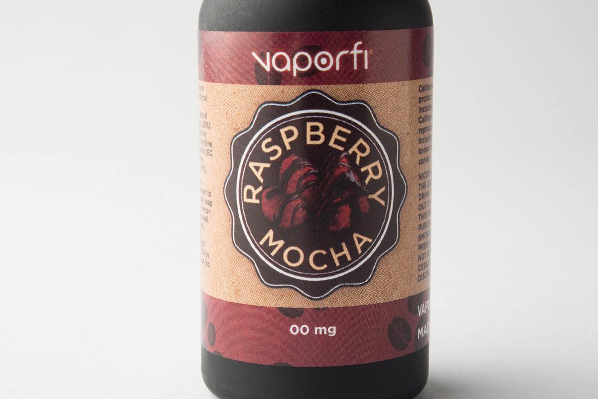 【リキッド】Raspberry Mocha「ラズベリーモカ」 (VaporFi/ベーパーファイ) レビュー