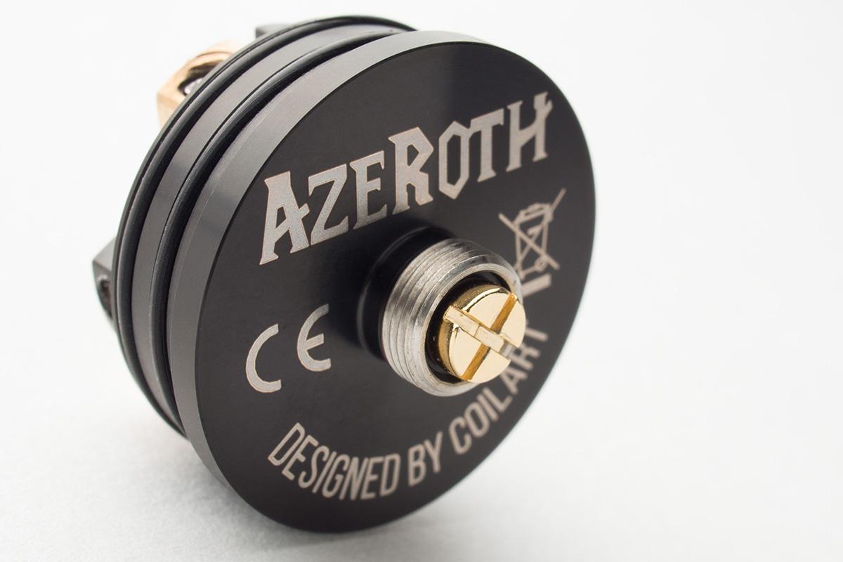 【アトマイザー】AZEROTH RDA「アゼロス」 (CoilART/コイルアート) レビュー