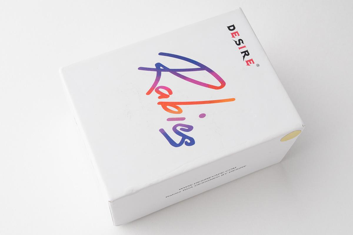 【アトマイザー】Rabies RDA「ラビーズ」 (Desire/デザイア) レビュー
