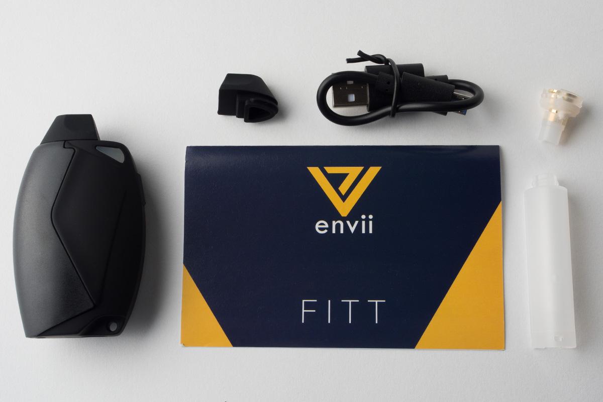 【スターターキット】FITT「フィット」(Envii/エンヴィ) レビュー
