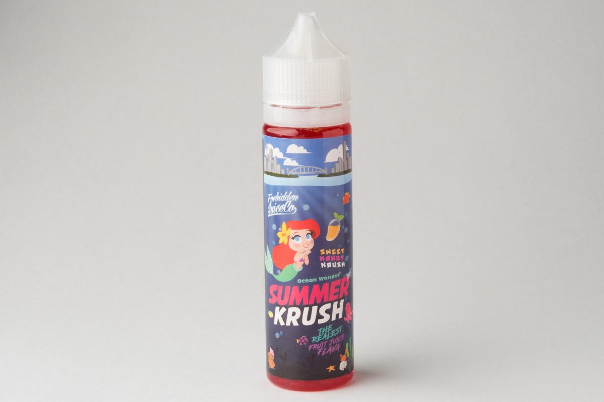 【リキッド】SUMMER KRUSH 「サマークラッシュ」 (Forbidden Juice/フォービドゥンジュース) レビュー