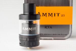 【アトマイザー】Ammit 25 RTA「アメミット 25」 (geek vape/ギークベイプ) レビュー