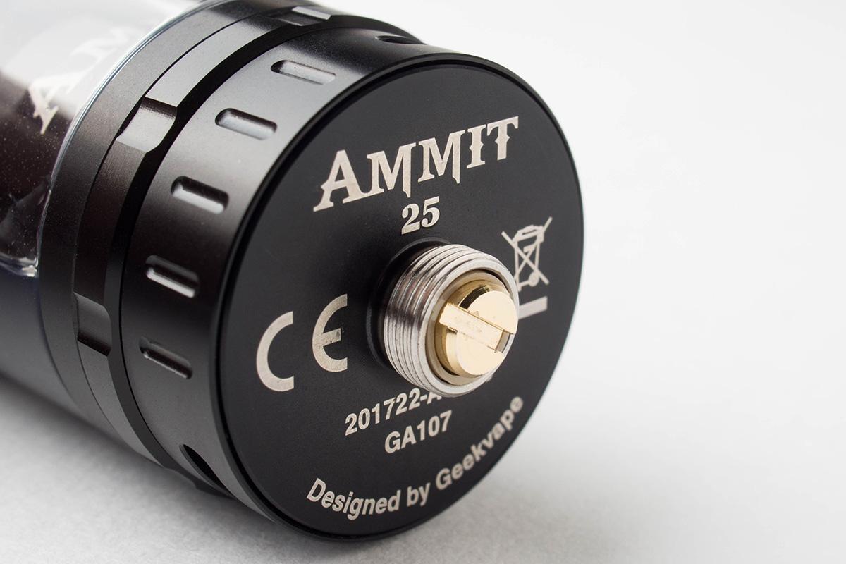 【アトマイザー】Ammit 25 RTA「アメミット 25」 (Geekvape/ギークベイプ) レビュー