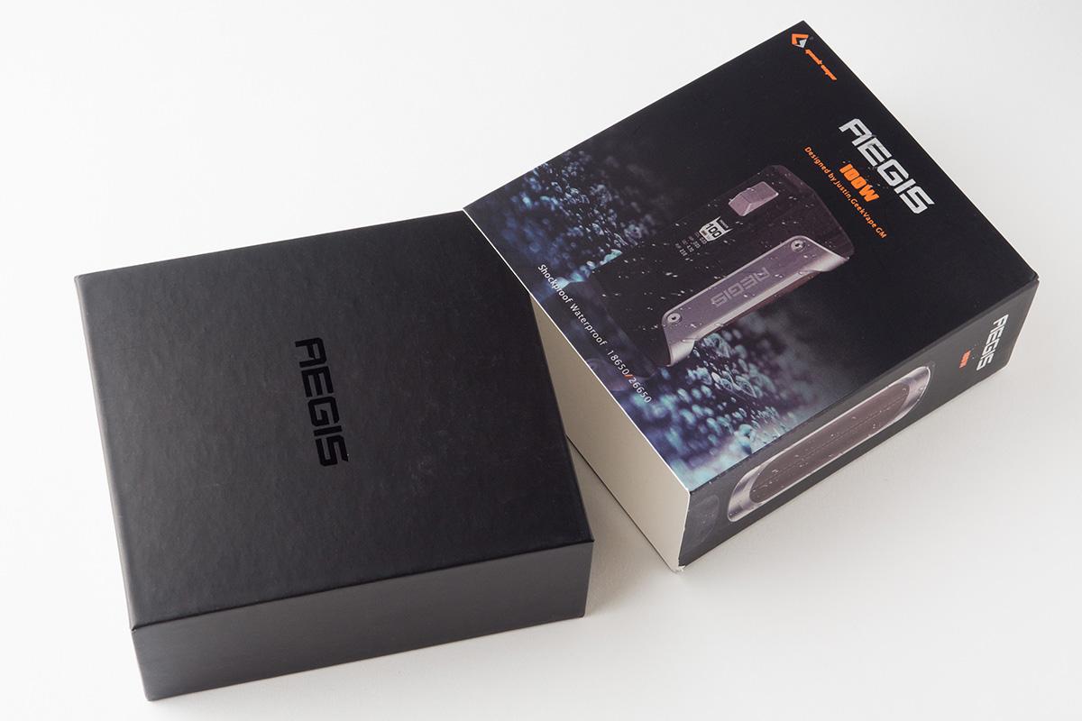【テクニカルMOD】Aegis TC Box MOD「イージス」(GeekVape/ギークベイプ) レビュー