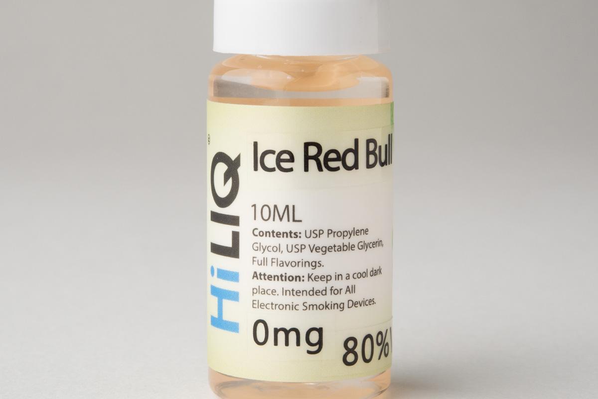 【リキッド】 Ice Red Bull「アイス レッドブル 」(HiLIQ/ハイリク) レビュー