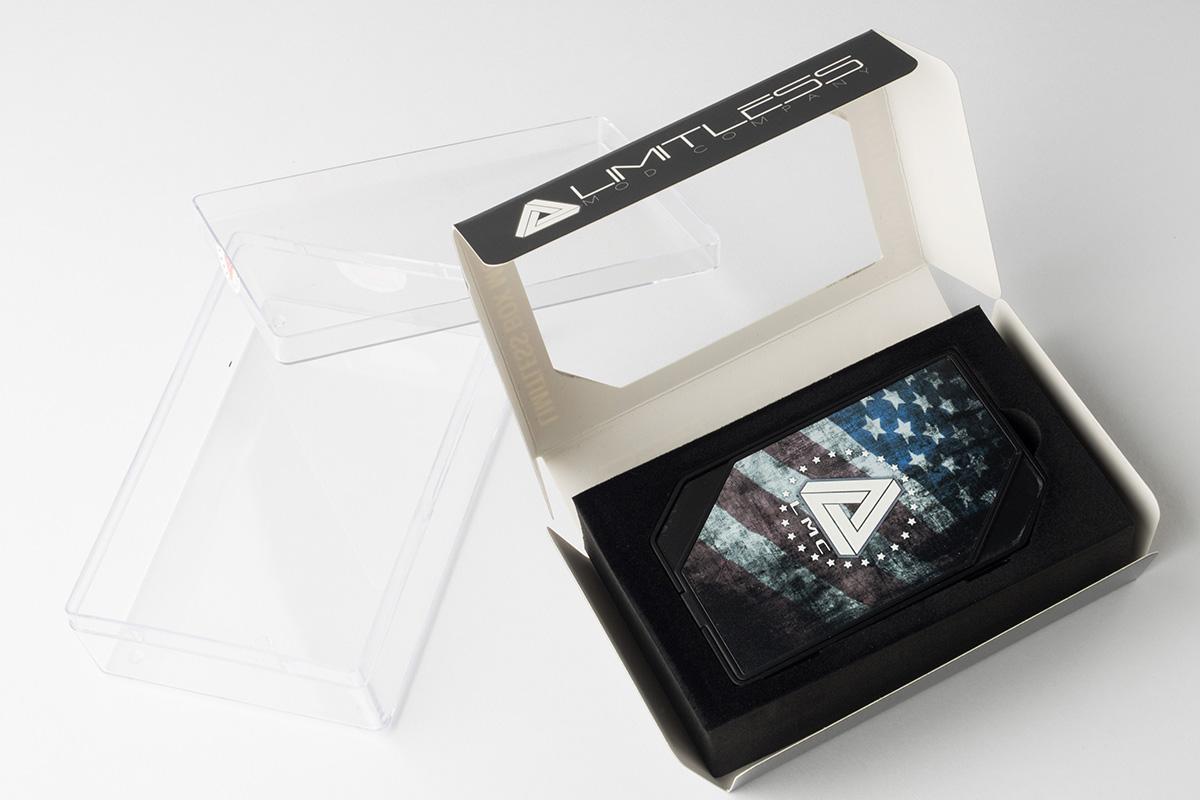 【テクニカルMOD】LMC BOX MOD (Limitless/リミットレス) レビュー