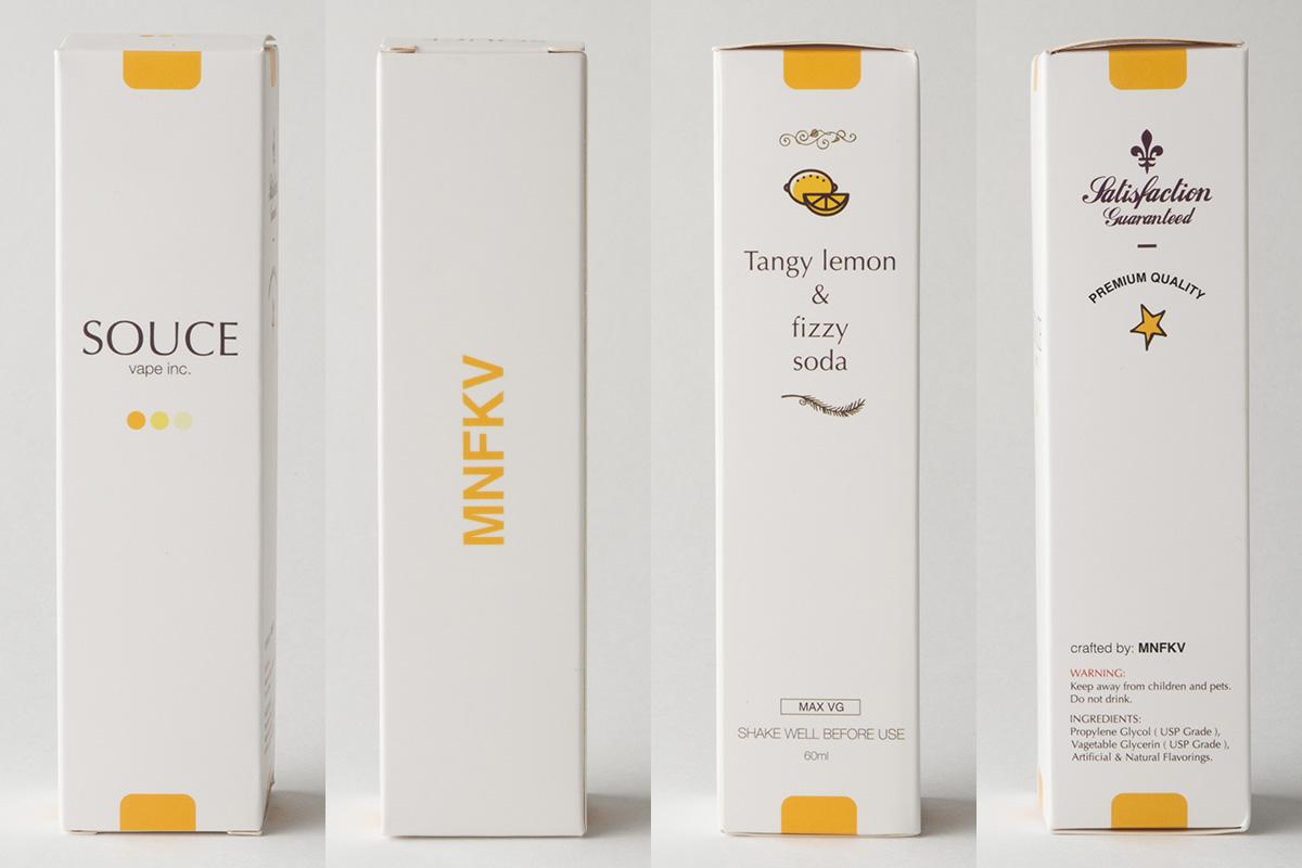 【リキッド】Tangy Lemon & Fizzy Soda「タンギーレモン&フィジーソーダ」 (SOUCE/ソース) レビュー