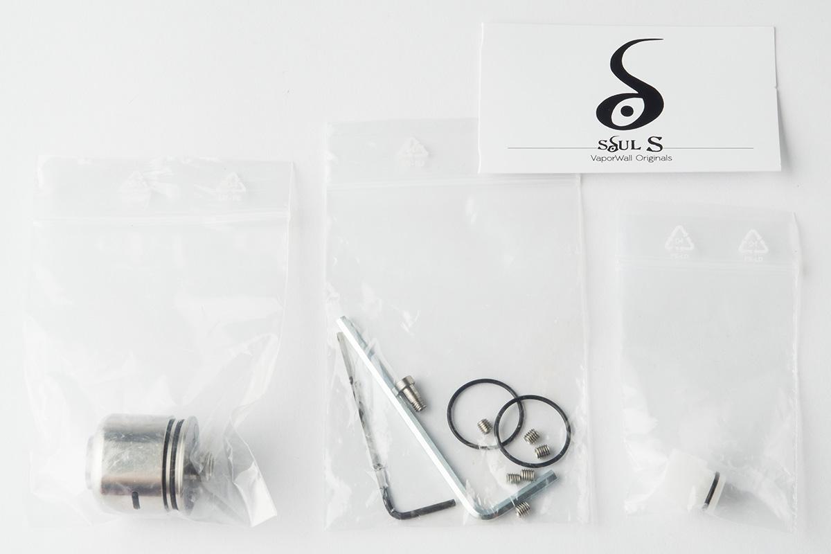 【アトマイザー】Soul S RDA「ソウル エス」 (Van & Del Design) レビュー