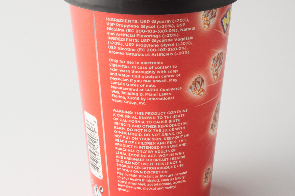 【リキッド】Bites Vanilla Caramel Swirl「バイツ バニラキャラメルスワール」 (VaporFi/ベイパーファイ) レビュー