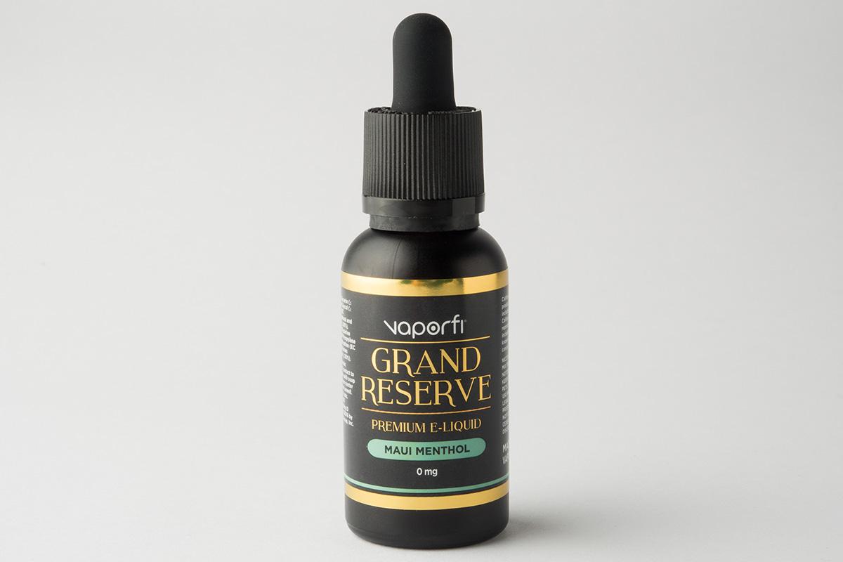 【リキッド】-Grand Reserve- Maui Menthol「グランマズ ダッチ アップルパイ」 (VaporFi/ベイパーファイ) レビュー