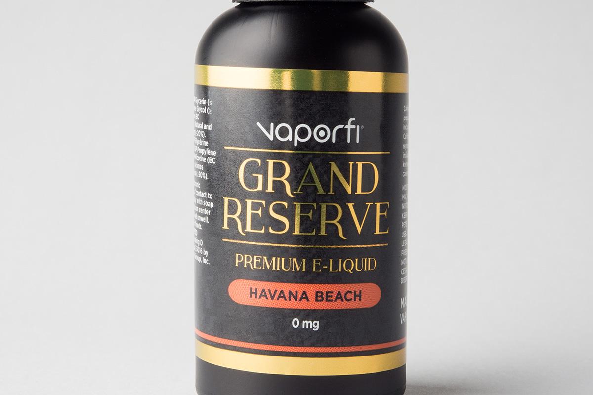 【リキッド】-Grand Reserve- Havana Beach「ハバナビーチ」 (VaporFi/ベイパーファイ) レビュー
