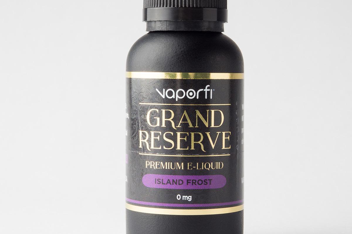 【リキッド】-Grand Reserve- Island Frost「アイランド フォレスト」 (VaporFi/ベイパーファイ) レビュー