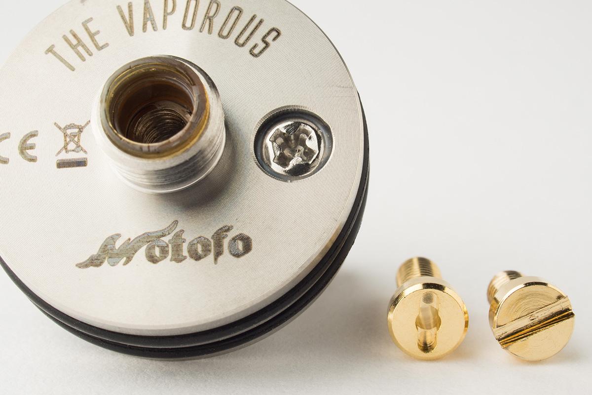 【アトマイザー】VAPOROUS RDA「ヴァポラス」 (Wotofo/ウォトフォ) レビュー