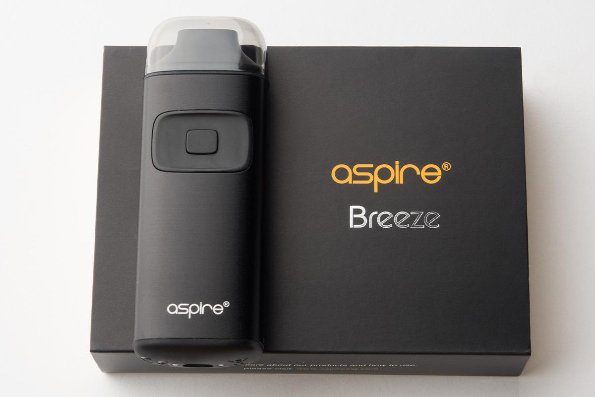 【スターターキット】Breeze「ブリーズ」(Aspire/アスパイア) レビュー
