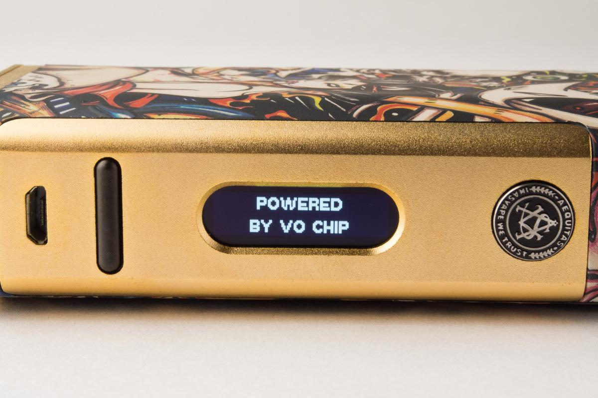 【テクニカルMOD】MICHAEL VO200 TC BOX MOD 「VO CHIP搭載」 (ASVAPE/アスベイプ) フォトレビュー