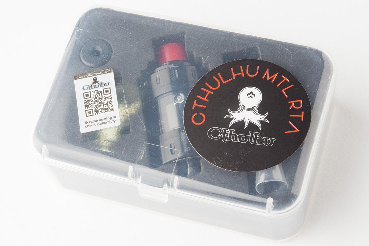 【アトマイザー】MTL RTA (Cthulhu/クトゥルフ) レビュー
