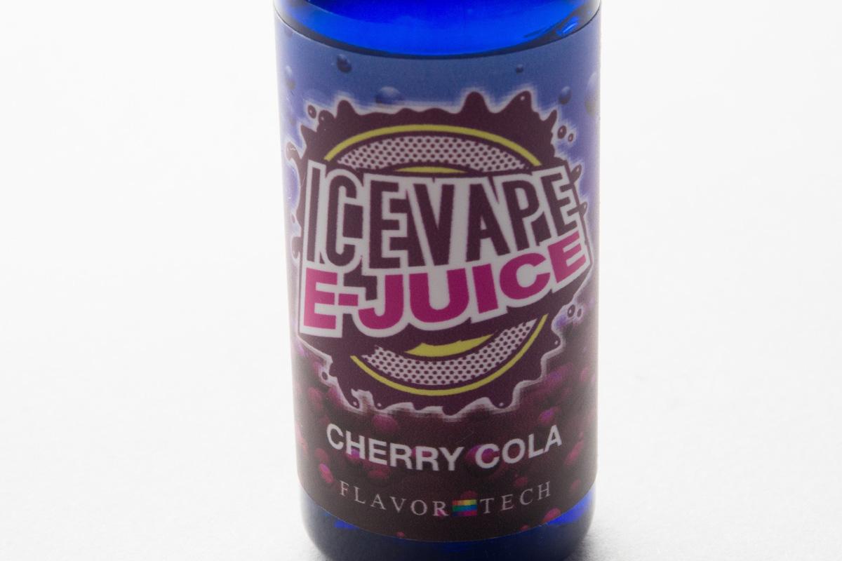 【リキッド】CHERRY COLA「チェリーコーラ」 (ICE VAPE E-JUICE/アイスベイプ) レビュー