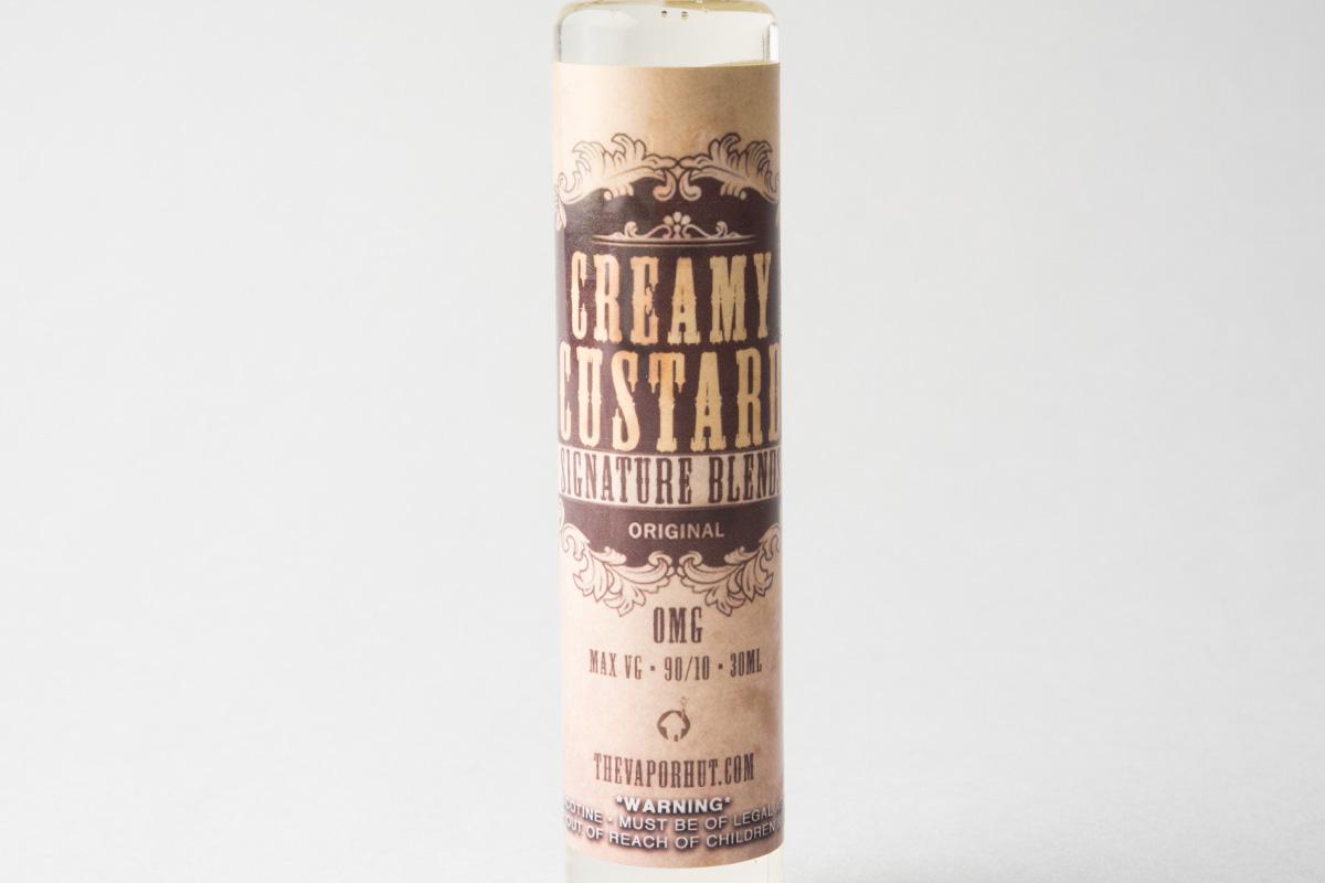【リキッド】Creamy Custard「クリーミーカスタード」 (The Vapor Hut/ベイパー ハット) レビュー