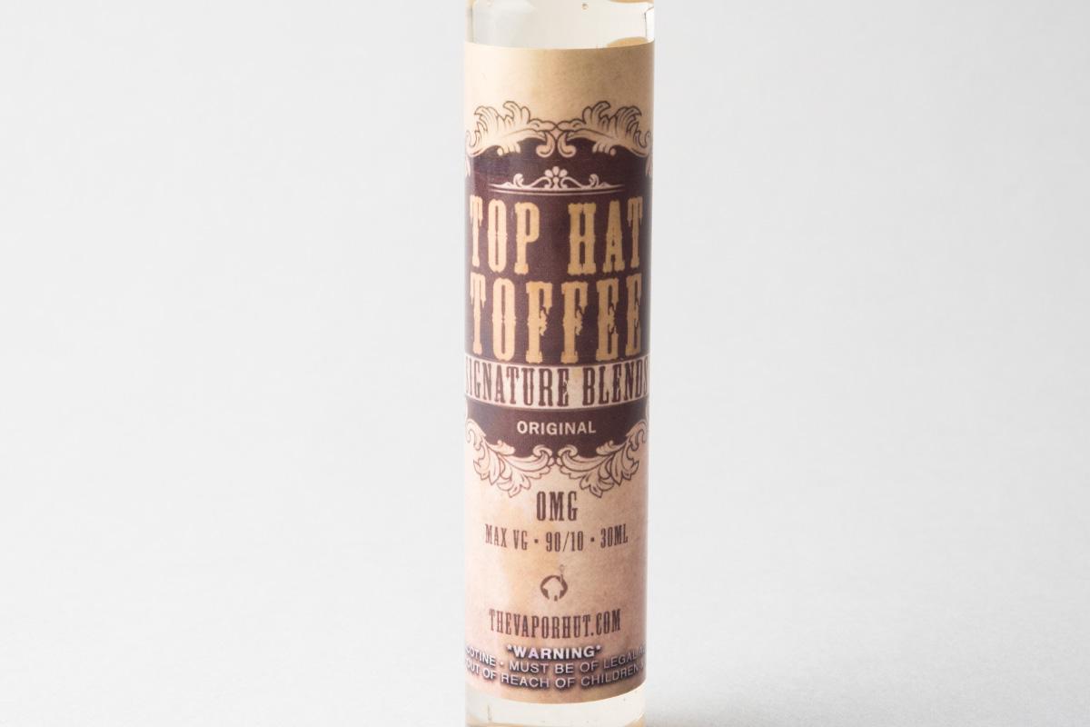 【リキッド】Top Hat Toffee「トップハットトフィー」 (The Vapor Hut/ベイパー ハット) レビュー