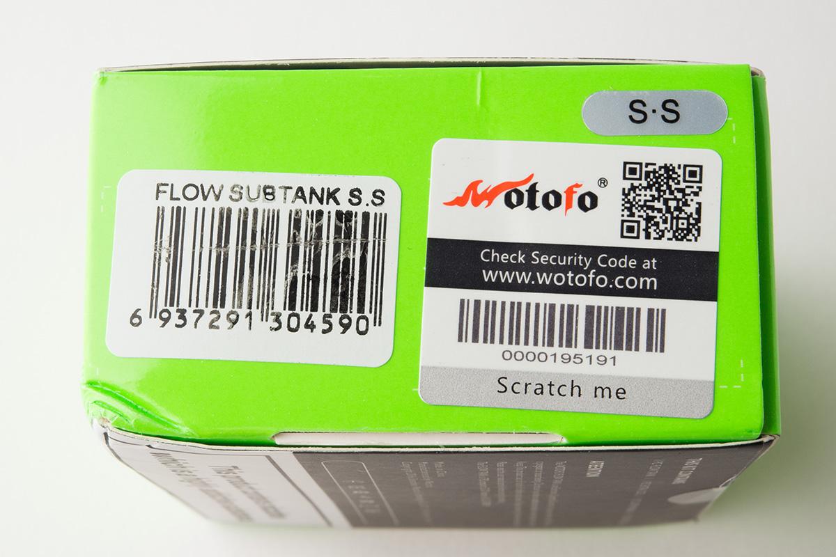 【アトマイザー】FLOW TANK「フロータンク」 (Wotofo/ウォトフォ) レビュー