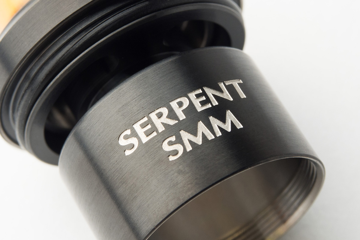 【アトマイザー】 Serpent SMM「サーペント エスエムエム」 (Wotofo/ウォトフォ) レビュー