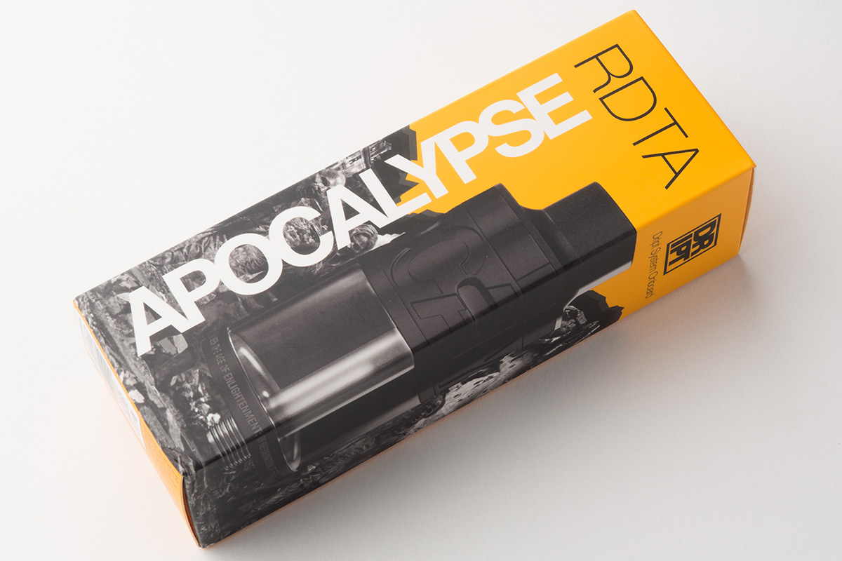 【アトマイザー】Apocalypse RDTA 「アポカリプス」 (Atom Vape/アトムベイプ) レビュー