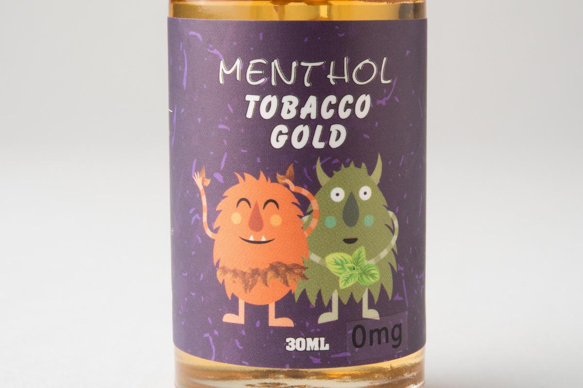 【リキッド】menthol tobacco gold「メンソールタバコゴールド」 ショップ限定 (HiLIQ Premium/ハイリクプレミアム) レビュー