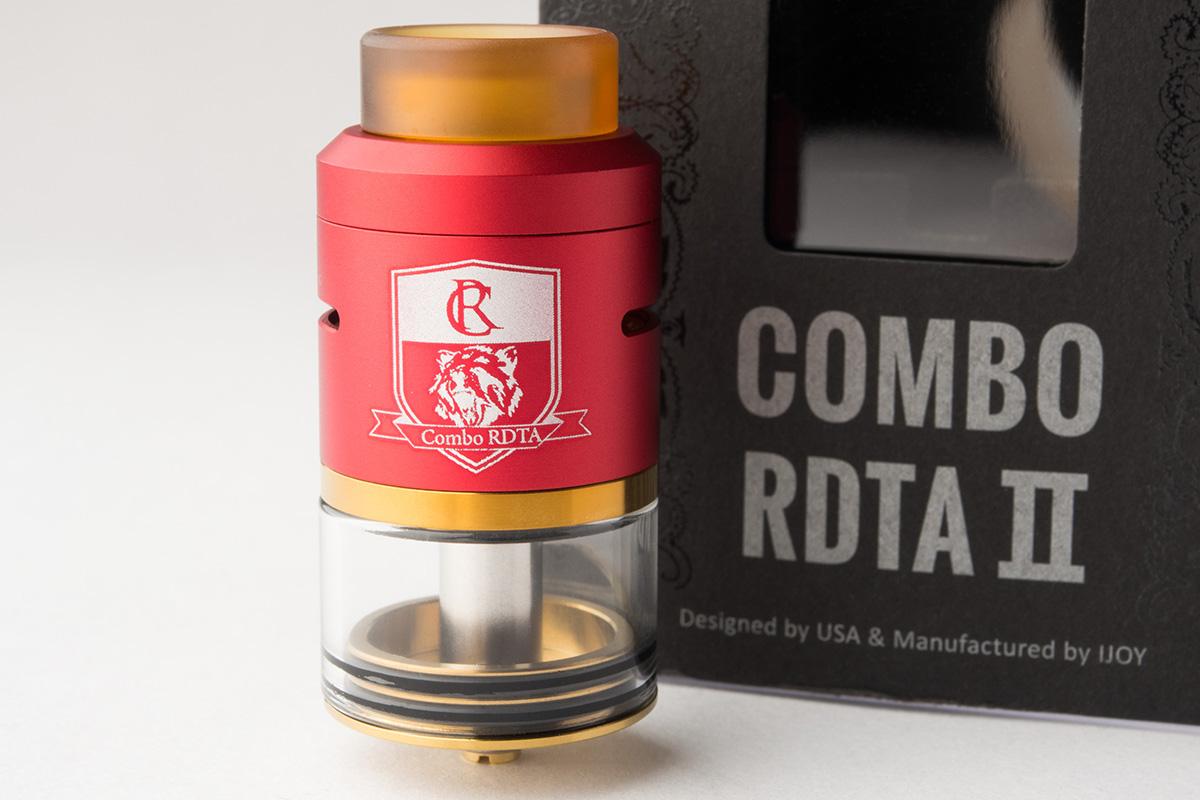 【アトマイザー】COMBO RDTA II 「コンボRDTA2」 (IJOY /アイジョイ) レビュー