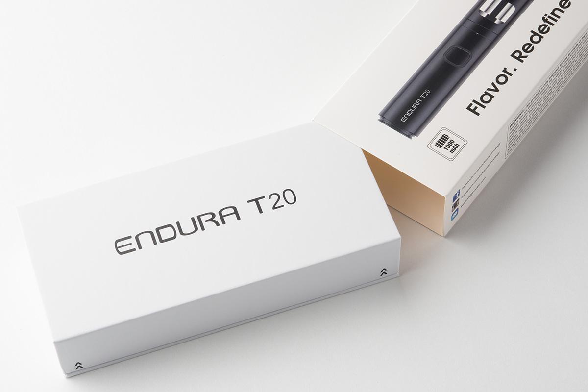 【スターターキット】Endura T20「エンデュラT20」 (Innokin/イノキン) レビュー