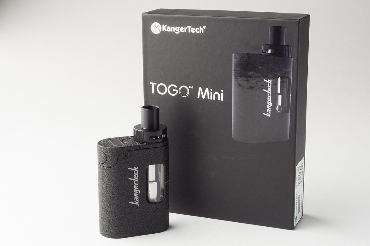 【スターターキット】TOGO Mini「トーゴ ミニ」 (KangerTech/カンガーテック) レビュー
