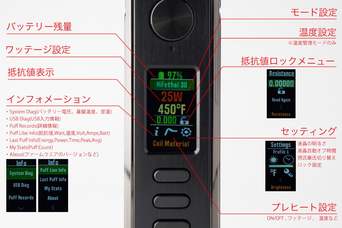 【テクニカルMOD】PARANORMAL DNA75C「パラノーマル」 (LostVape /ロストベイプ) レビュー