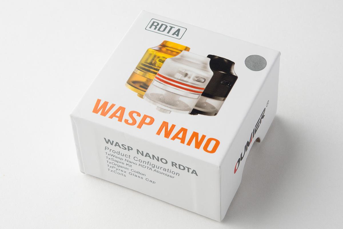 【アトマイザー】Wasp Nano RDTA「ワスプ ナノ」 (OUMIER) レビュー