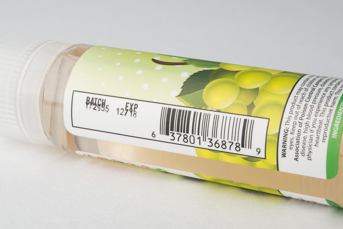 【リキッド】White Grape「ホワイトグレープ」 (CAKE VAPORS/ケーキベイパーズ) レビュー