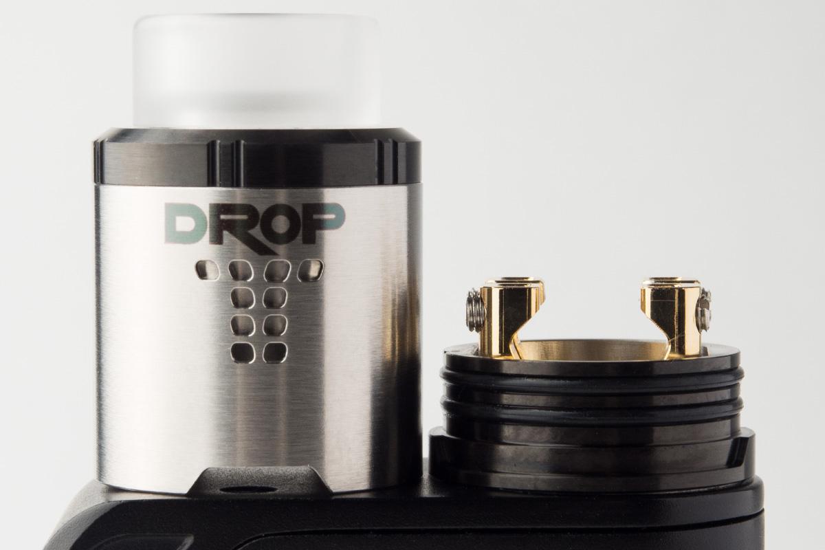 【アトマイザー】DROP RDA 「ドロップ」 (DIGIFLAVOR/デジフレーバー) レビュー