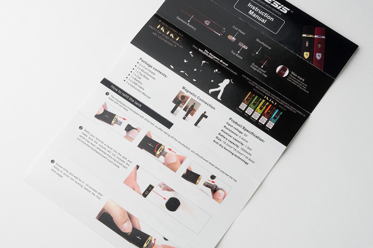 【スターターキット】Genesis AIO Kit「ジェネシス エーアイオー」 (Hangsen/ハンセン) レビュー